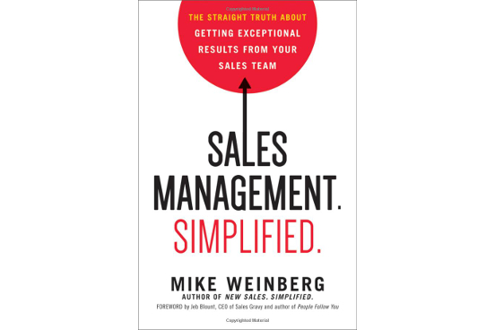 Book Review of Sales Management. Simplified.