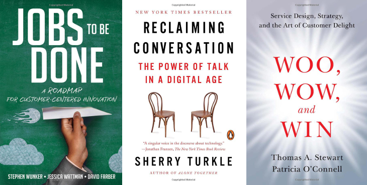 Jobs to be Done   Reclaiming the Conversation   Woo, Wow, Win