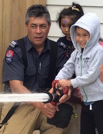 Fireman visit
