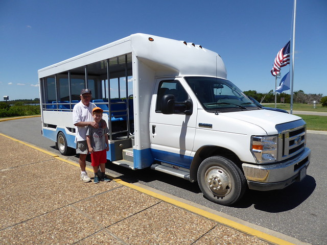"The ""Blue Goose"" Tram Service"