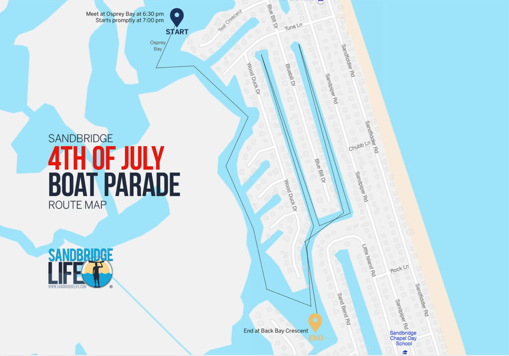4th of July Boat Parade Details & Map