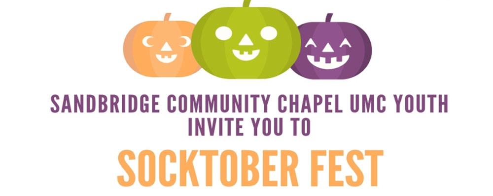Socktober Fest is October 26th