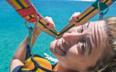 """Parasailing –  How did this become """"A Thing""""?"""