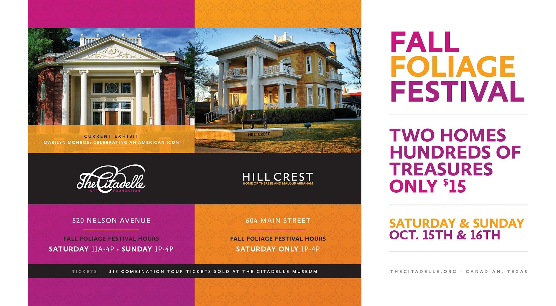 The Citadelle Fall Foliage Festival