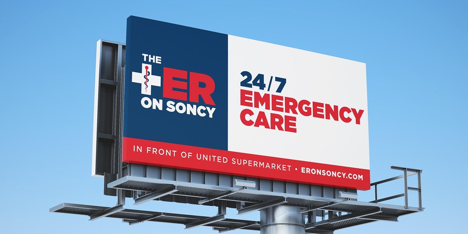 The Er on soncy billboard design
