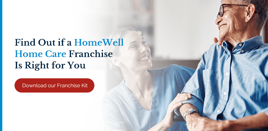 Find Out if a HomeWell Home Care Franchise is Right for You