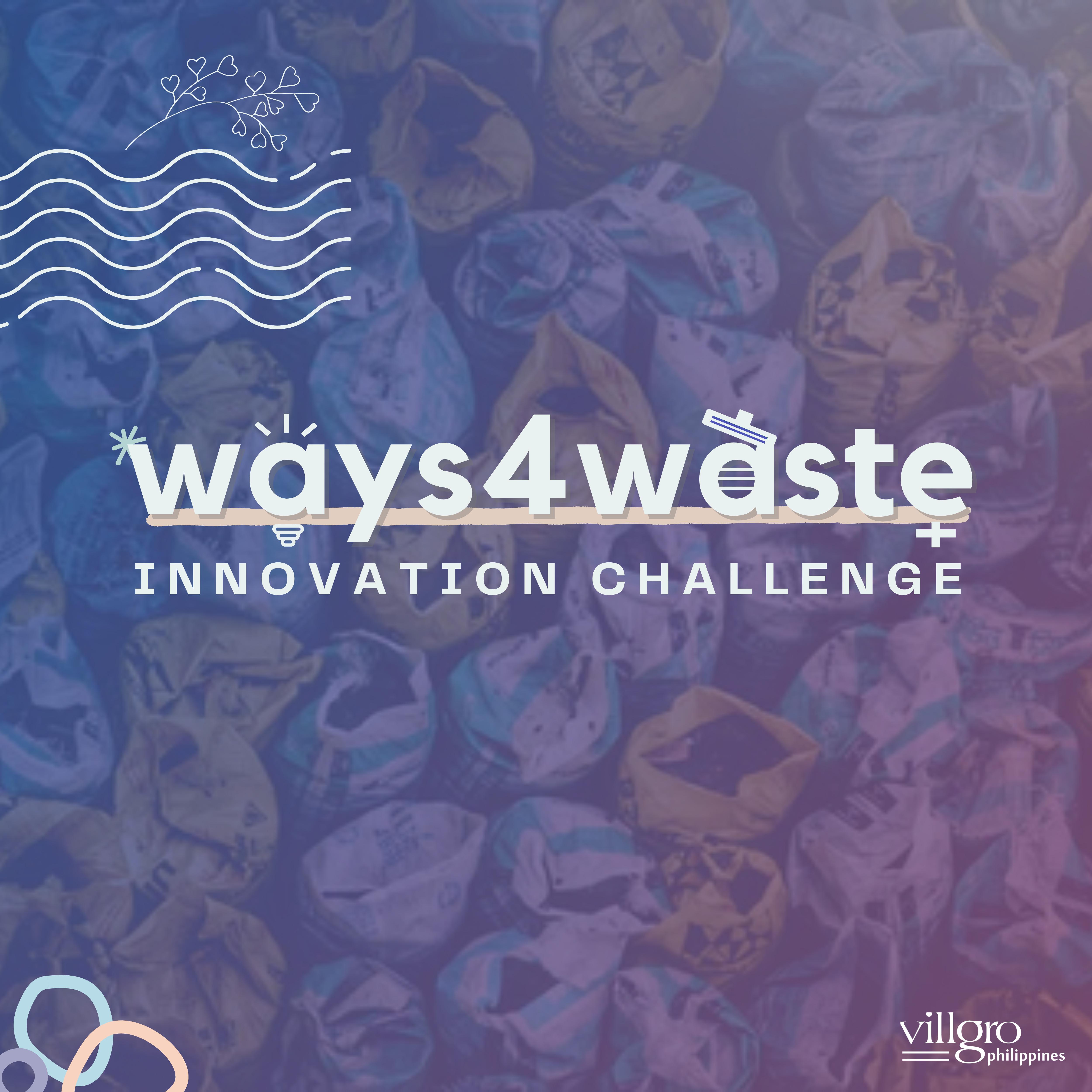 Ways 4 Waste Innovation Challenge