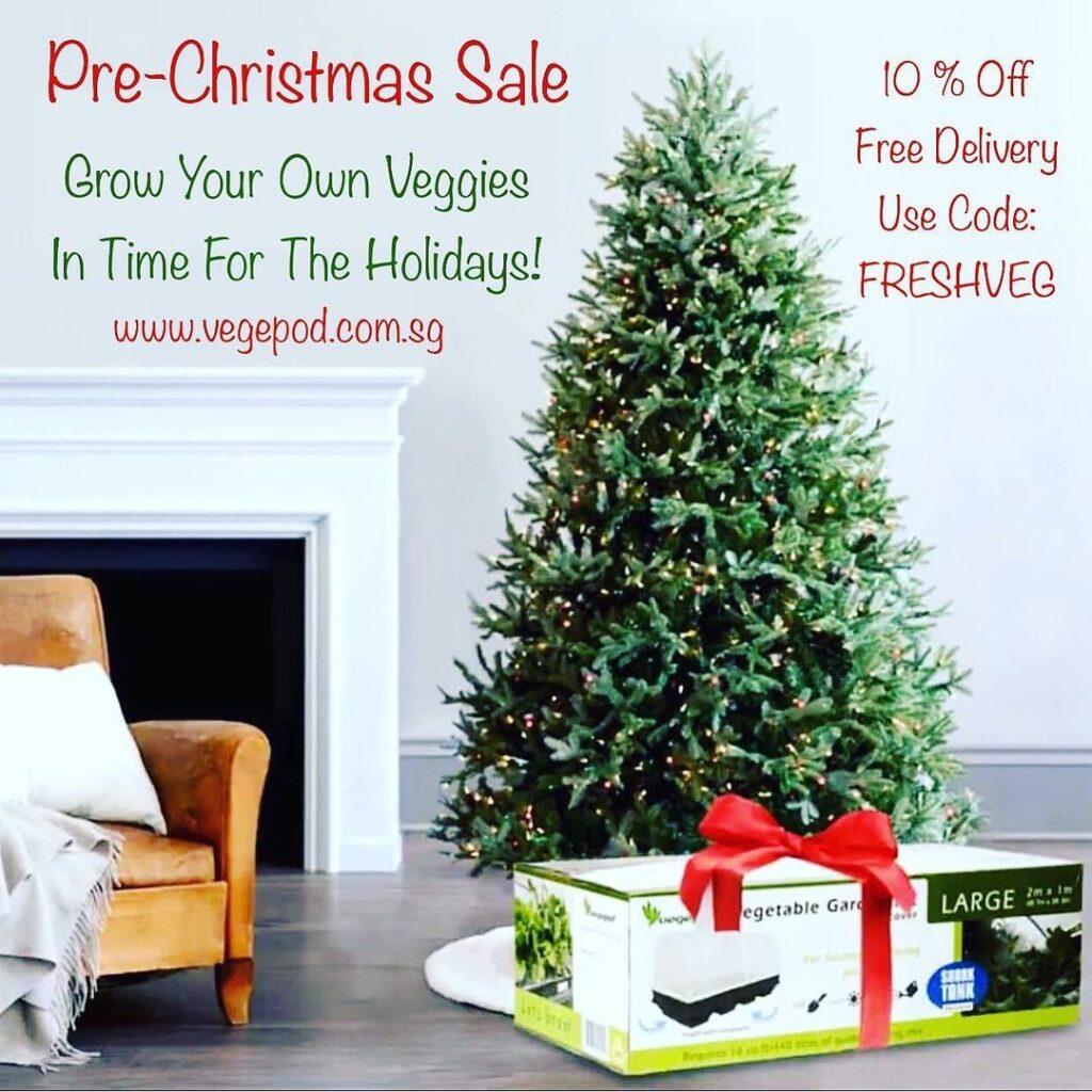 vegepod christmas promotion
