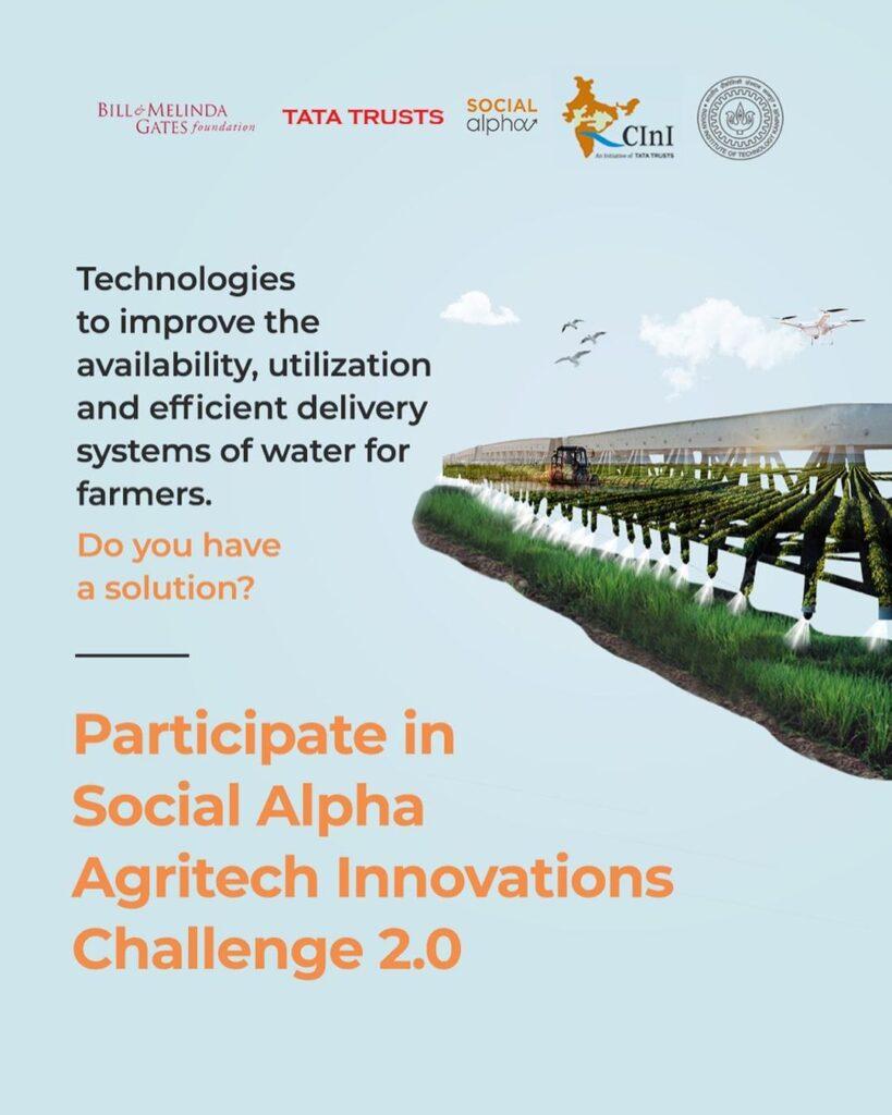 Social Alpha Agritech Innovations Challenge 2020