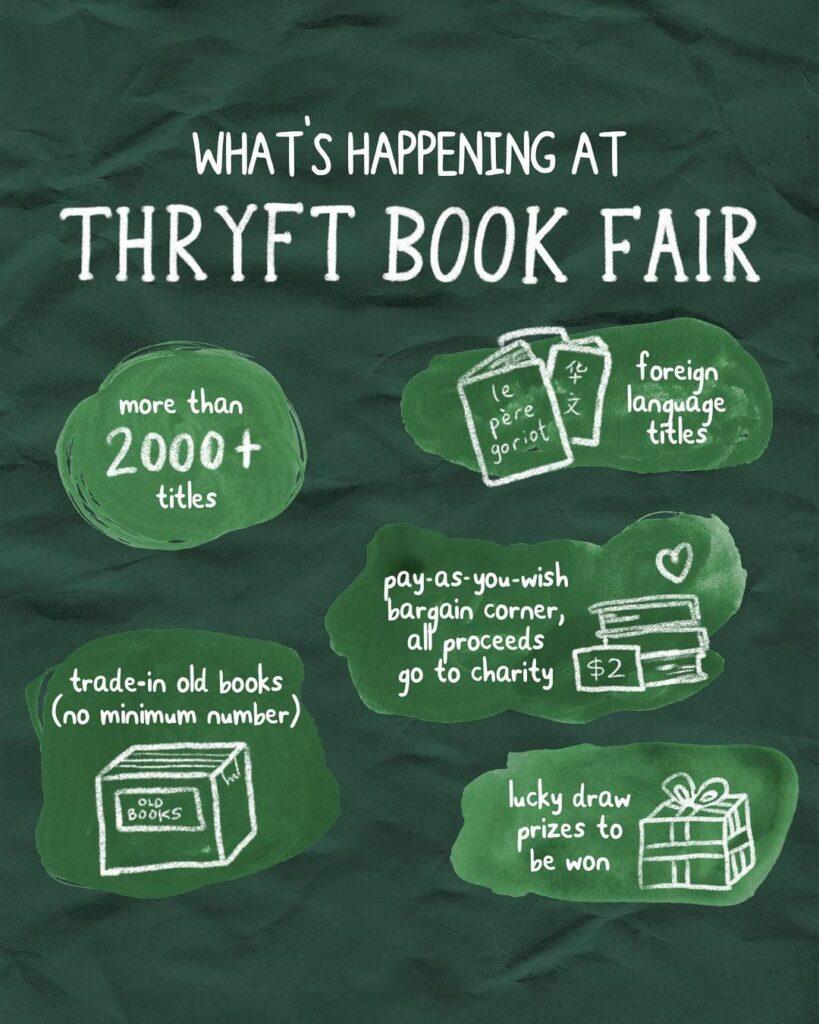 Thryft Book Fair Sneak Peek