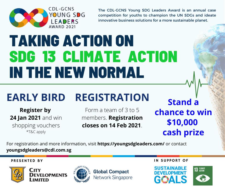 CDL Young SDG Leaders Award   ChangeMakr Asia