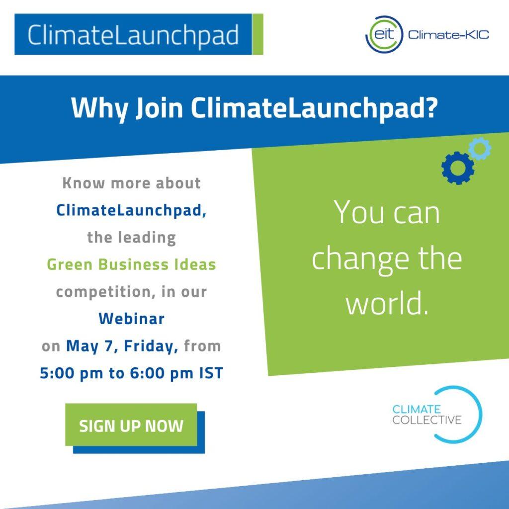 climate launchpad India