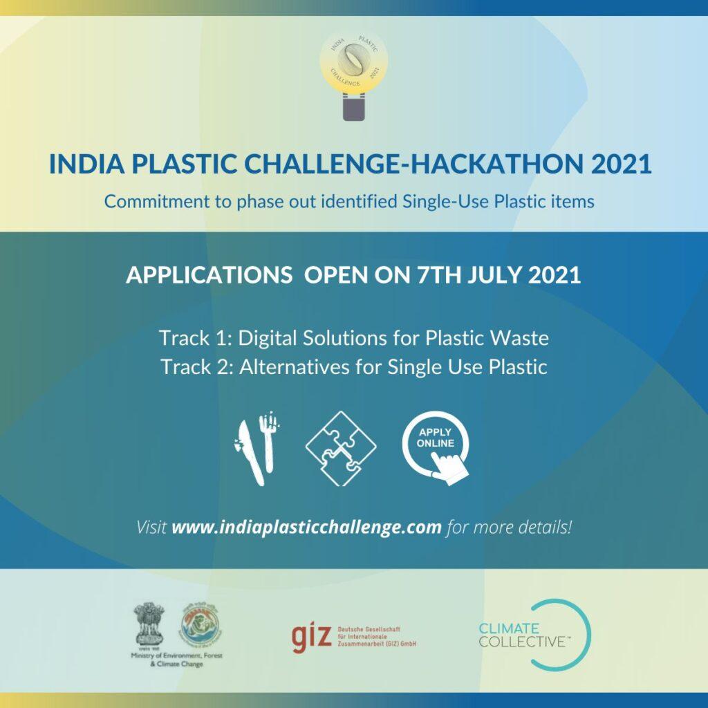 India Plastic challenge Hackathon 2021