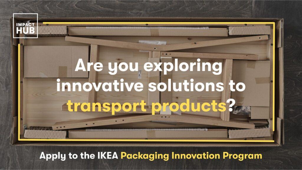 IKEA PACKAGING INNOVATION PROGRAMME