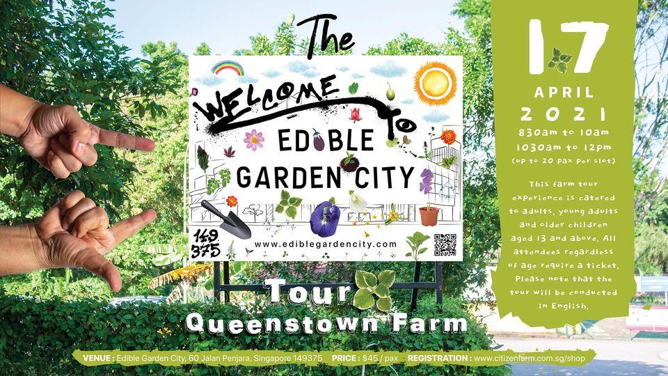 Edible Garden City Tour