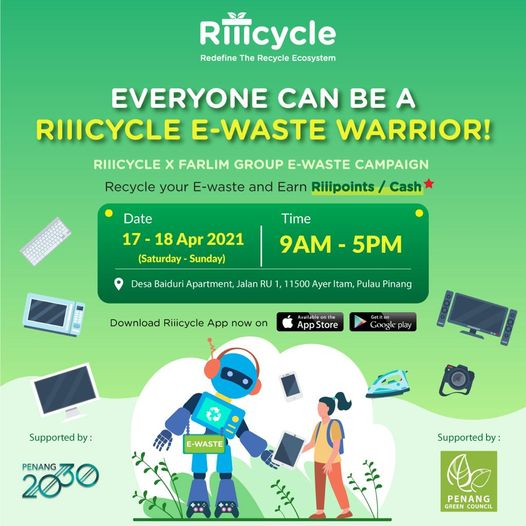 Riiicycle MY E-Waste Campaign