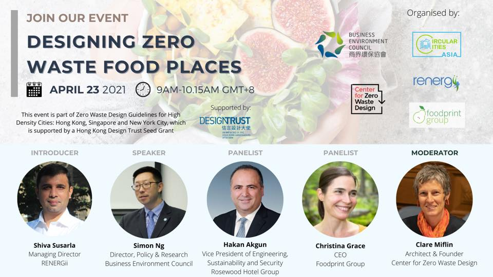 Designing Zero Waste Food Places