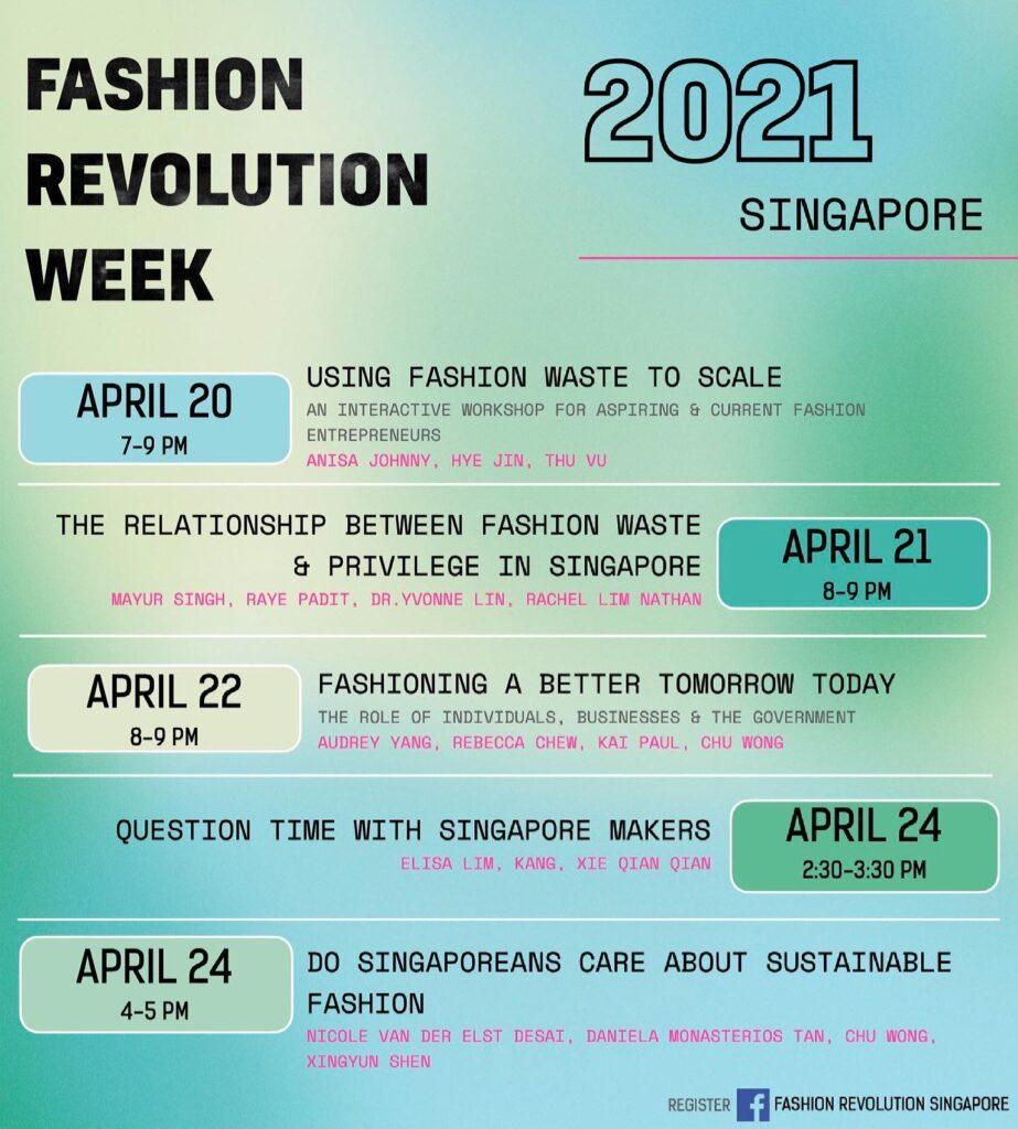 Fashion Revolution Week Singapore