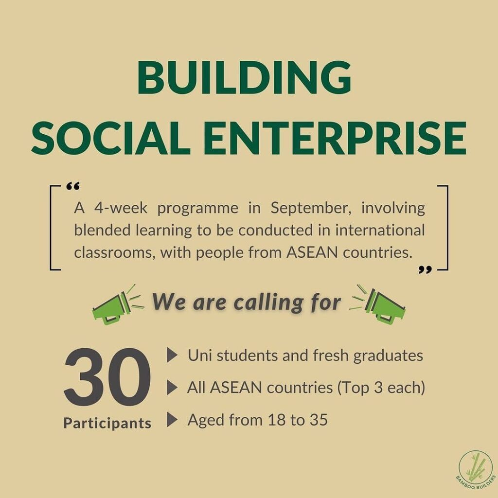 Bamboo Builder Building Social Enterprise Program