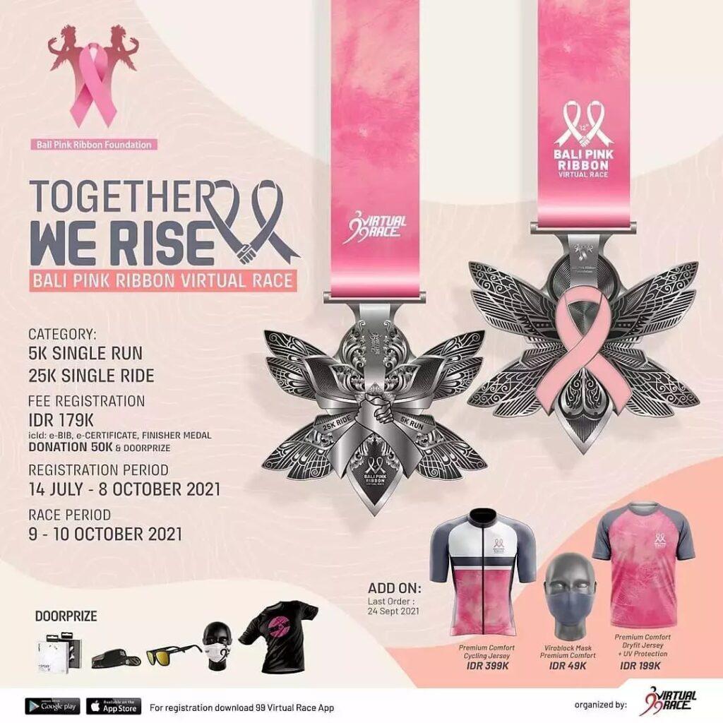 Bali Pink Ribbon Run 2021