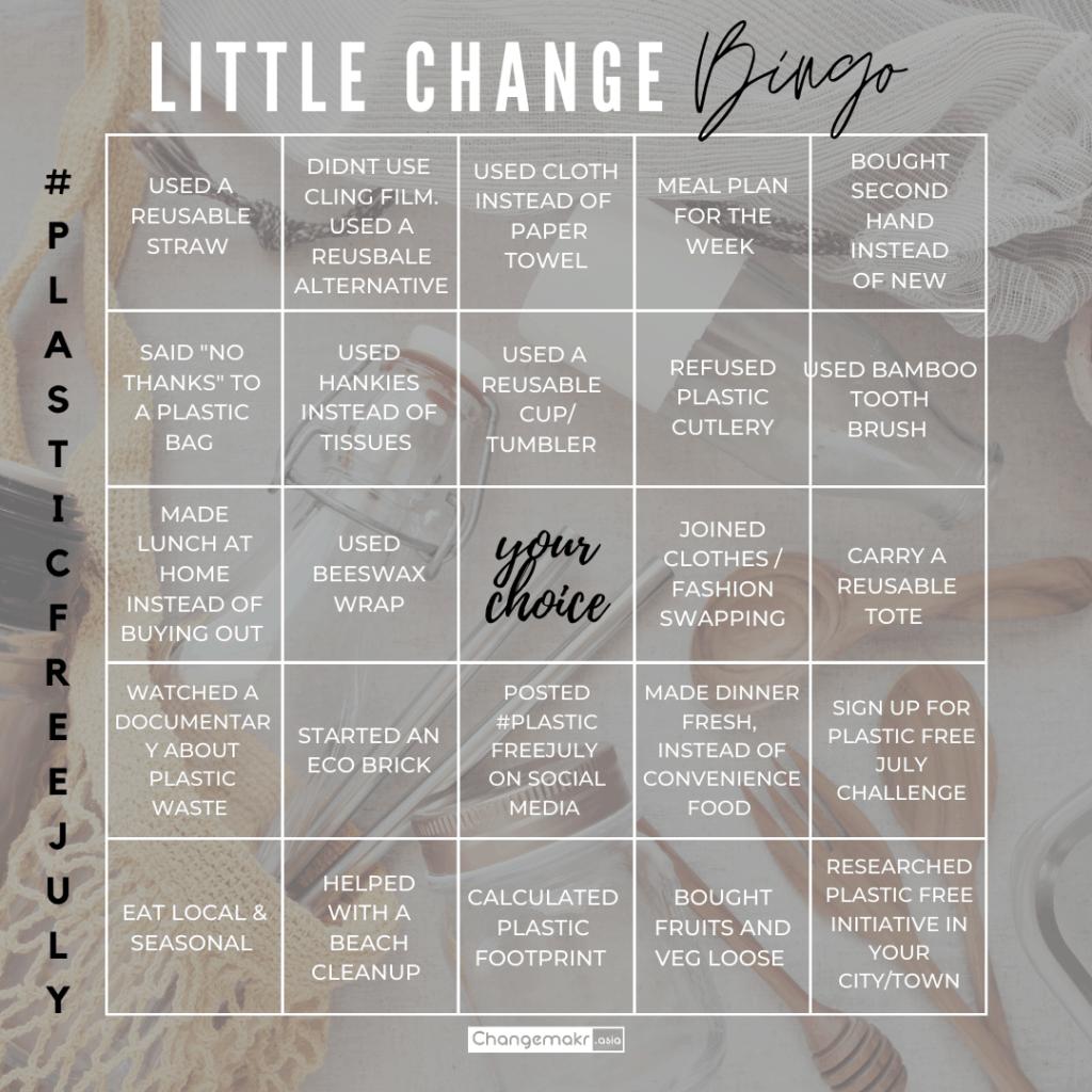 Little change Bingo (image credit : ChangeMakr Asia)