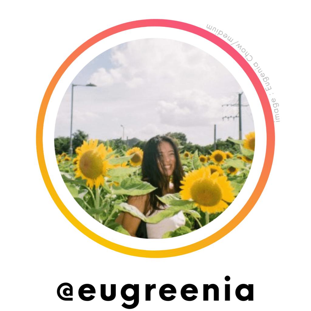social justice influencer - Eugreenia | ChangeMakr Asia