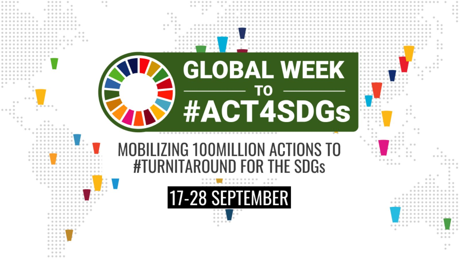 Read more about the article SDG Action week : #TurnItAround For People And Planet!