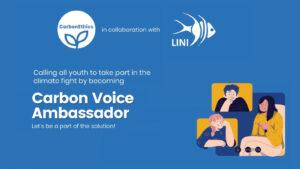 Carbon Ethics Carbon voice ambassador