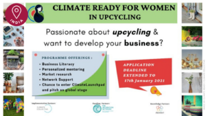 Climate Ready Women in Upcycling