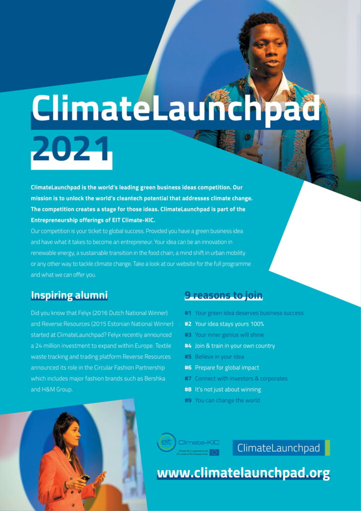 Climate Launchpad 2021