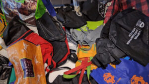 too many reusable shopping bag