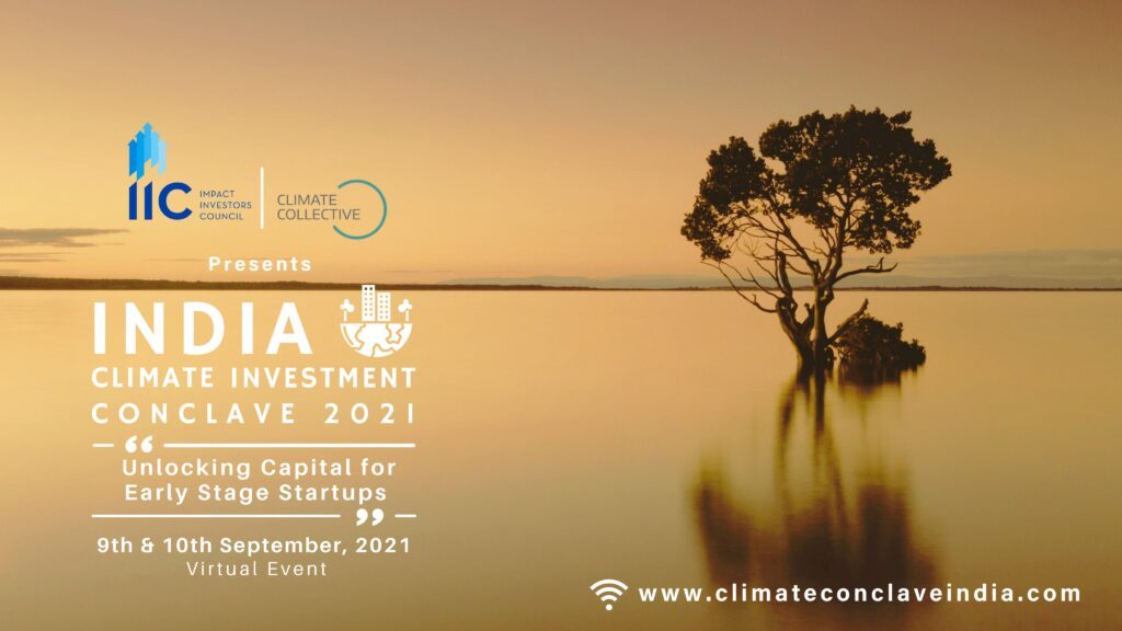 INDIA Climate Investment Conclave 2021