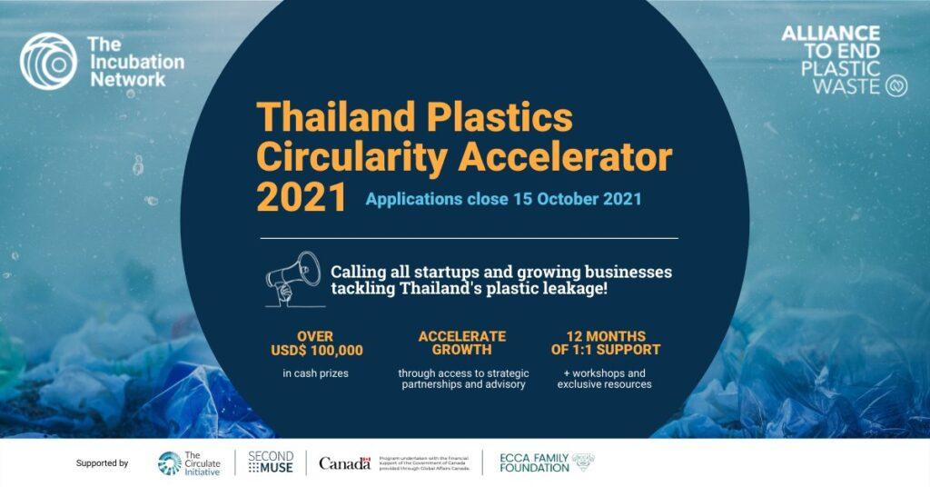 thailand plastic circularity accelerator 2021 original poster