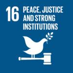 SDG 16 icon