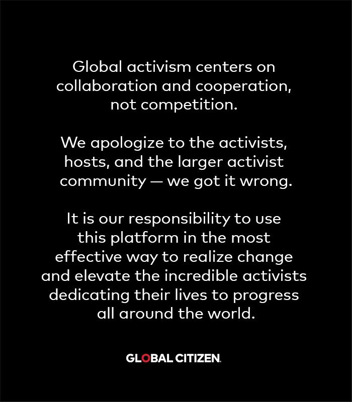 Global Citizen The Activist