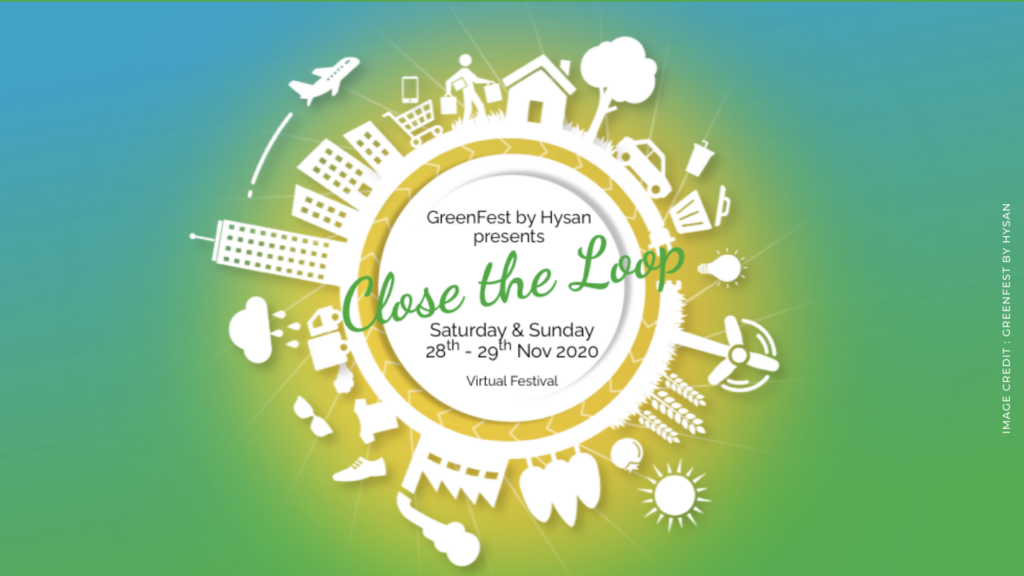 GreenFest 2020 : Close The Loop (image credit : Green Fest 2020by Hysan)