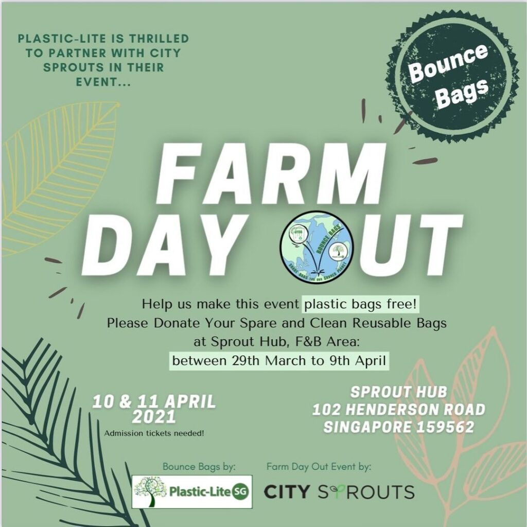 Farm Day Out Reusable Bag Collection Drive