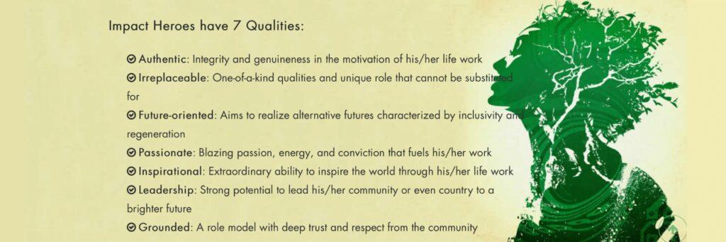 impact hero Qualities
