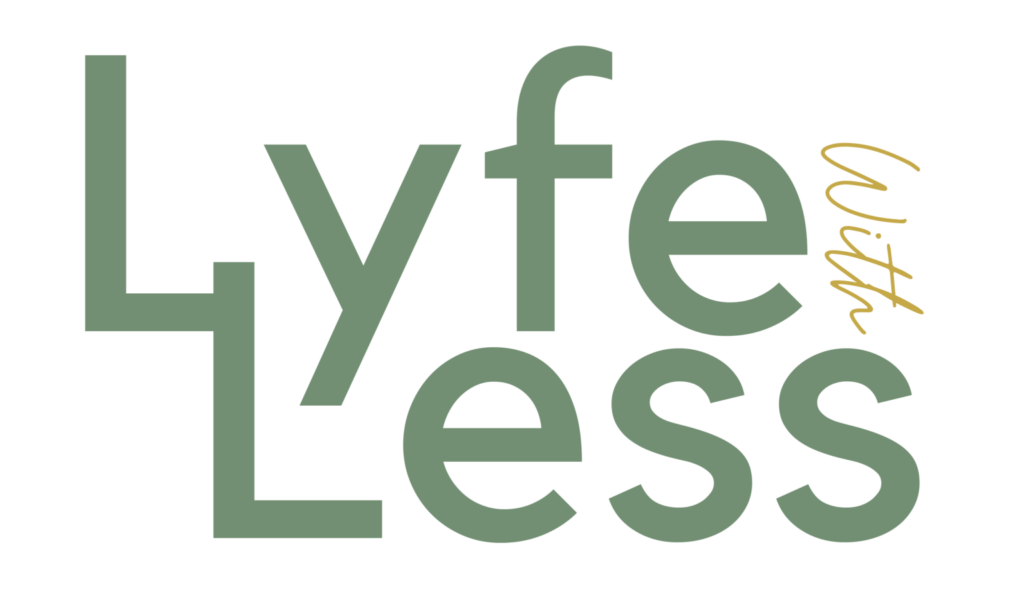 LYFEWITHLESS logo