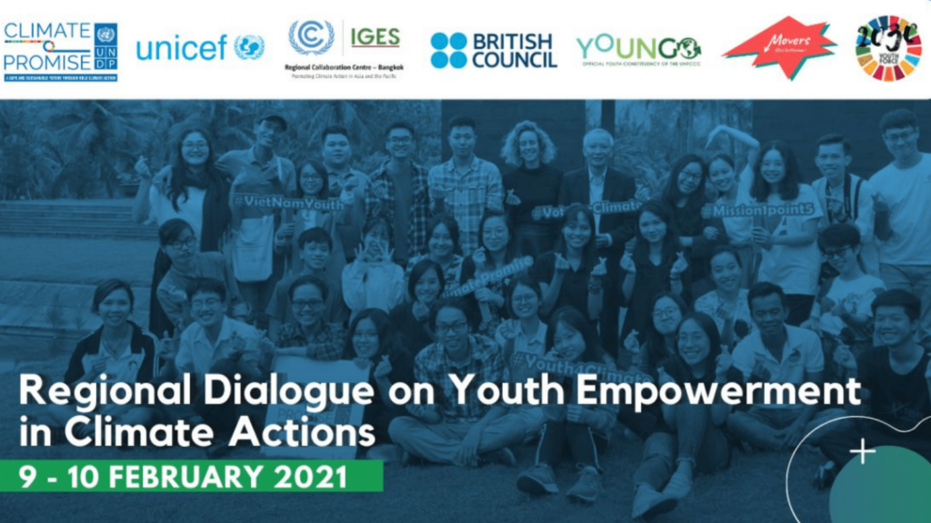UNDP Regional Dialogue on Youth Empowerment on Climate actions