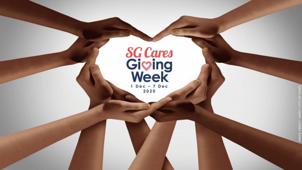 Giving Week 2020 (image credit : NVPC / City Of good) | ChangeMakr Asia