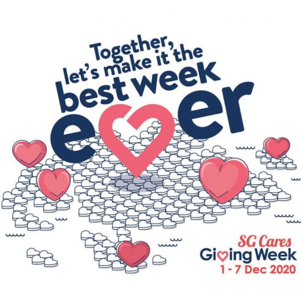 SG Giving Week 2020 (image credit : NVPC / City Of Good)