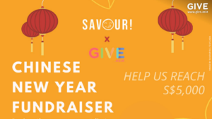 Savour CNY Fundraising
