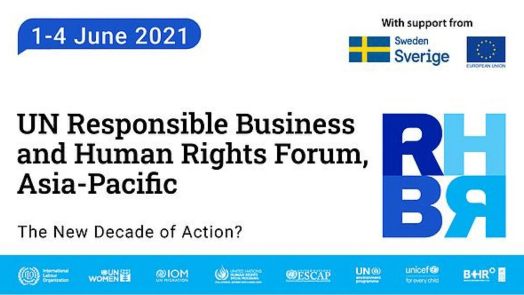 UN Responsible Business & Human Rights Forum 2021