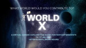 WORLD X event