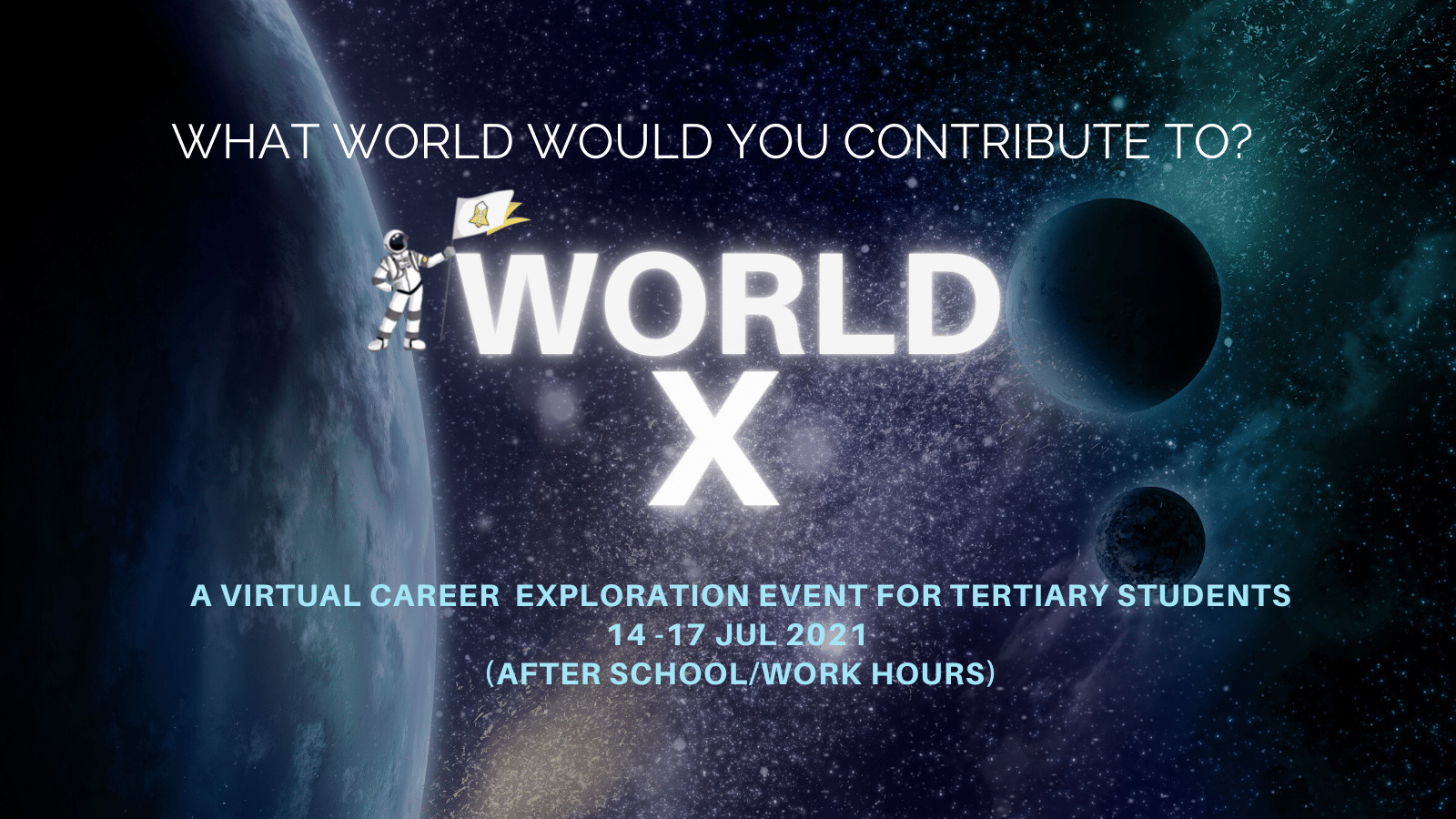 Read more about the article World X Event By TAC : Finding Purpose In The World of Work