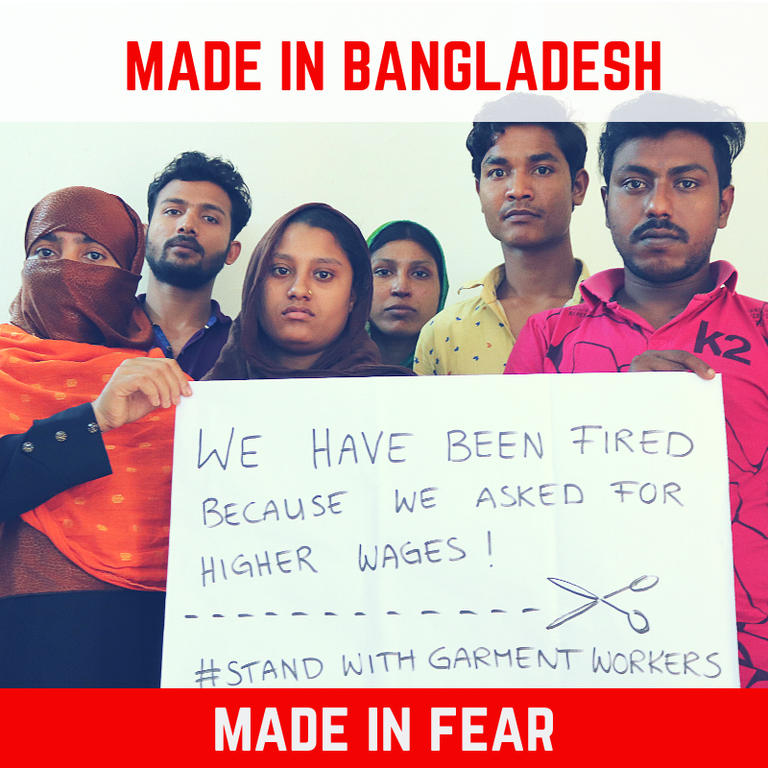 Clean Clothes Campaign - Made in Fear