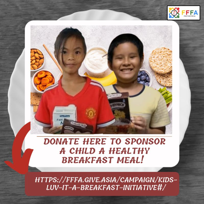 """Free Food For All """"kids Luv it"""" 