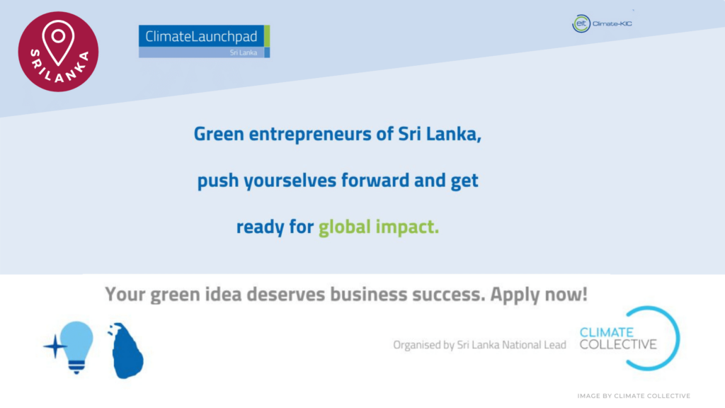 climate launchpad srilanka