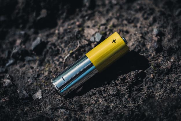 Soil Pollution by batteries (illustration via google image)